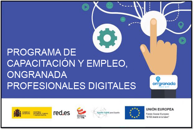 onGranada, red.es, profesionales digitales